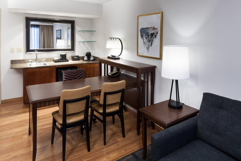 Embassy Suites by Hilton Anchorage-Suite with wet bar and work area<br/>Image from Leonardo
