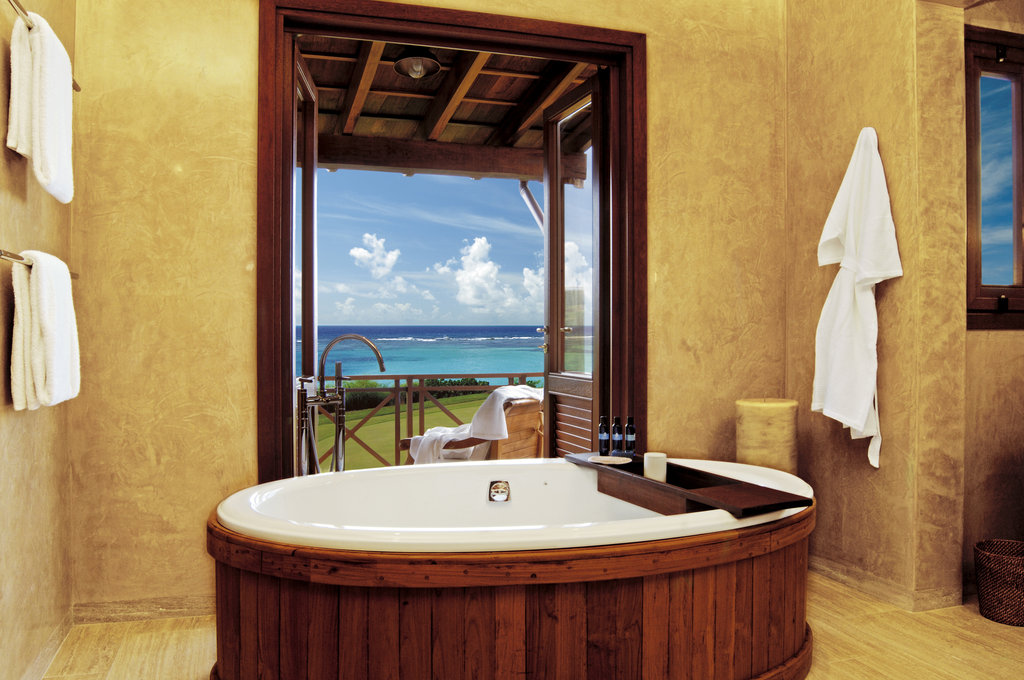 Young  Island  Resort-Bathroom At Three Bedroom Estate Residence<br/>Image from Leonardo