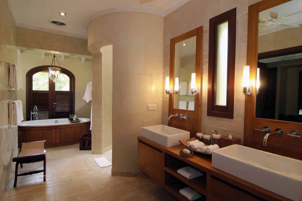 Young  Island  Resort-Bathroom At Four Bedroom Estate Residence<br/>Image from Leonardo