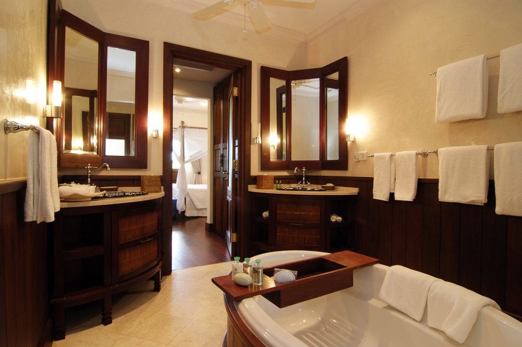 Young  Island  Resort-Bathroom At Two Bedroom Estate Residence<br/>Image from Leonardo