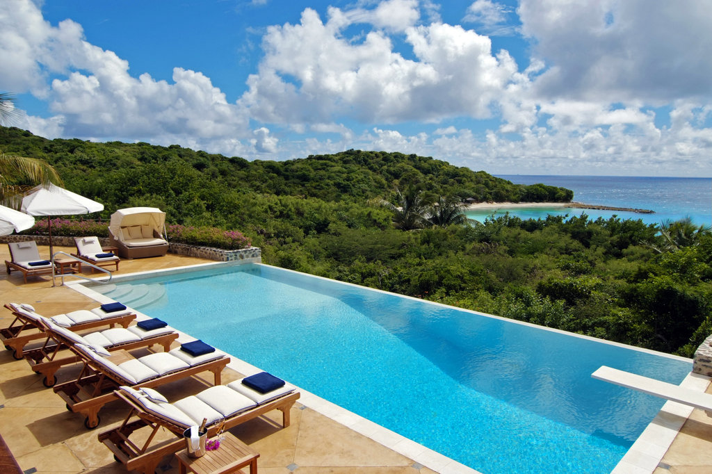 Young  Island  Resort-Pool At Five Bedroom Estate Residence<br/>Image from Leonardo