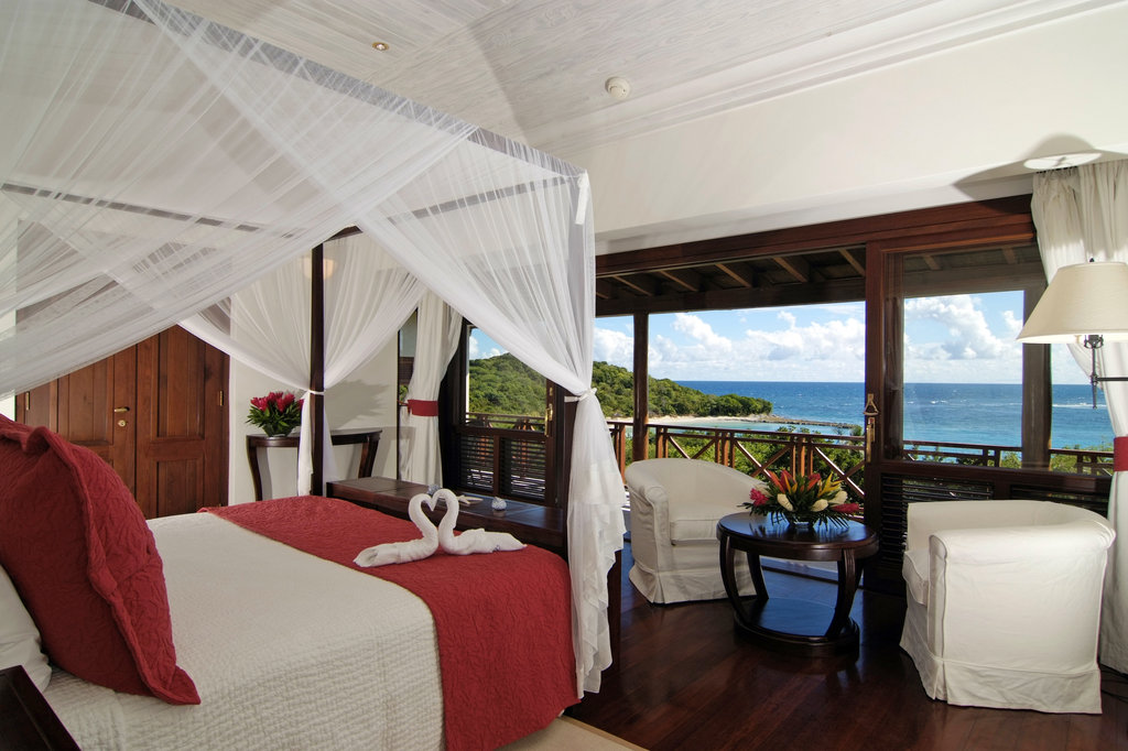 Young  Island  Resort-Bedroom At Five Bedroom Estate Residence<br/>Image from Leonardo