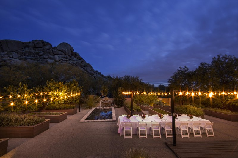 Boulders Resort & Spa, Curio Collection by Hilton-Outdoor Event at Night <br/>Image from Leonardo