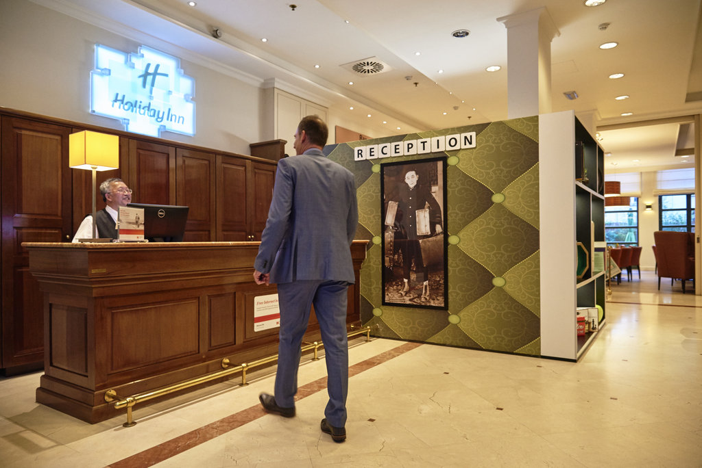Holiday Inn Brussels - Schuman-Welcome in Holiday Inn Brussels Schuman<br/>Image from Leonardo