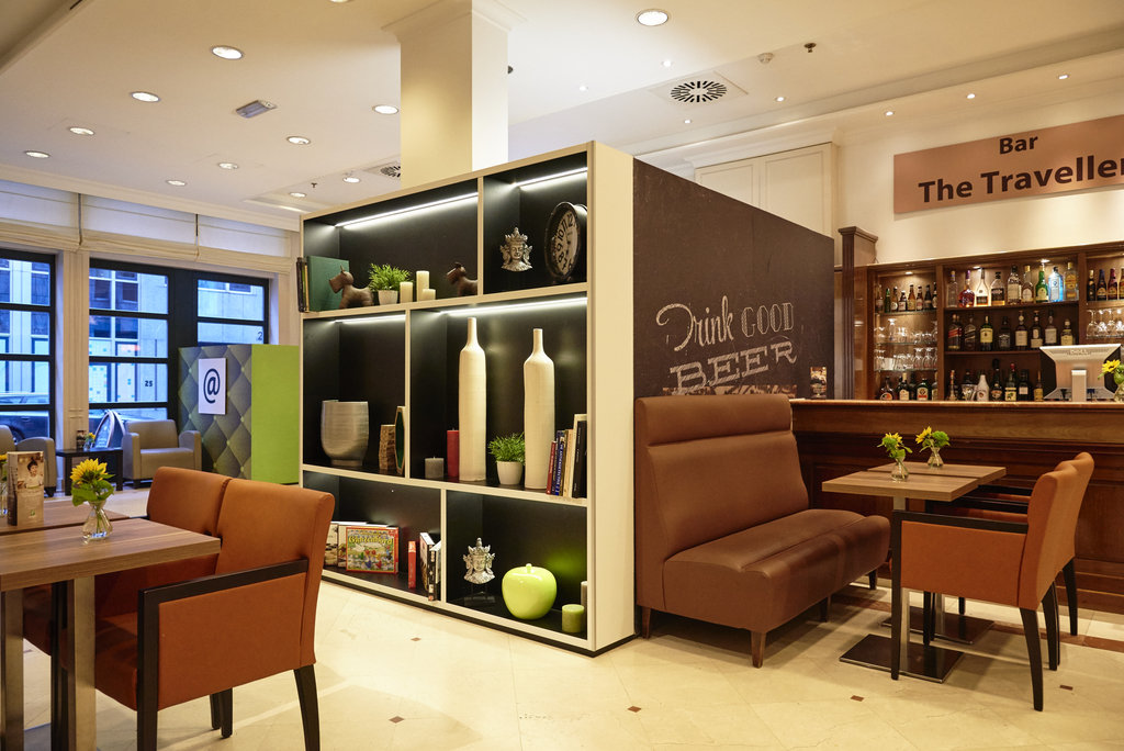 Holiday Inn Brussels - Schuman-Relax in the lobby lounge in Holiday Inn Brussels Schuman<br/>Image from Leonardo