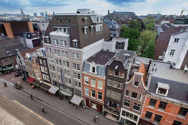 The Albus Hotel Amsterdam City Centre - The Albus Hotel - bovenaanzicht <br/>Image from Leonardo