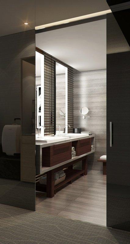 Grand Fiesta Americana Monterrey-Deluxe Room Bathroom<br/>Image from Leonardo