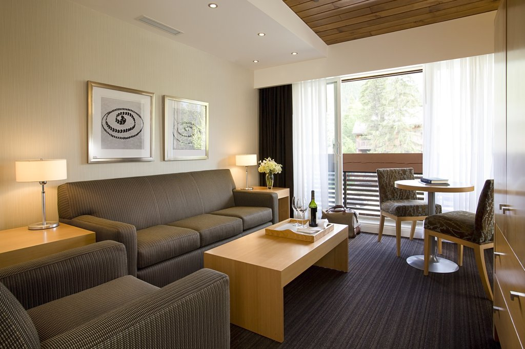 Banff Aspen Lodge-Premium Divided Sitting Area<br/>Image from Leonardo