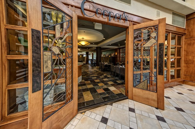 Hilton Knoxville Airport, TN-Coopers Restaurant<br/>Image from Leonardo