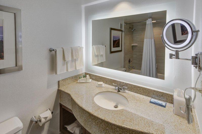 Hilton Knoxville Airport, TN-Standard Bathroom<br/>Image from Leonardo
