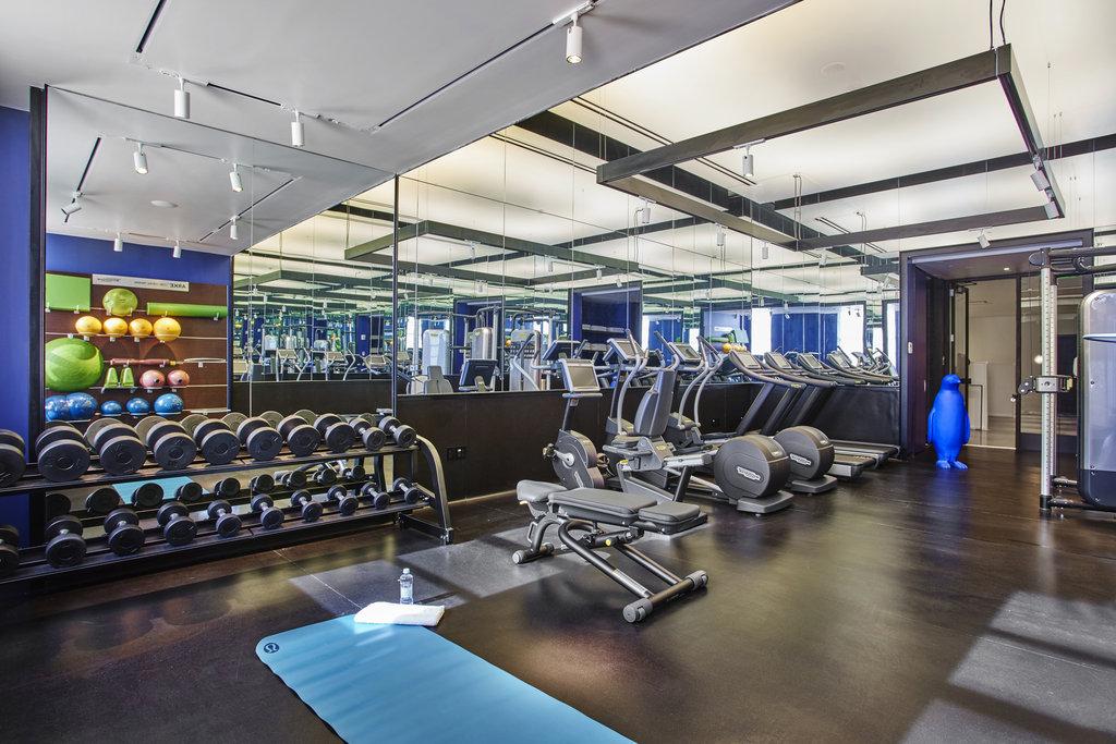21c Museum Hotel Lexington-Fitness Center<br/>Image from Leonardo