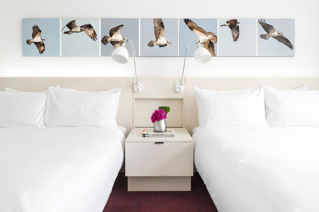 21c Museum Hotel Lexington-Guest Room<br/>Image from Leonardo