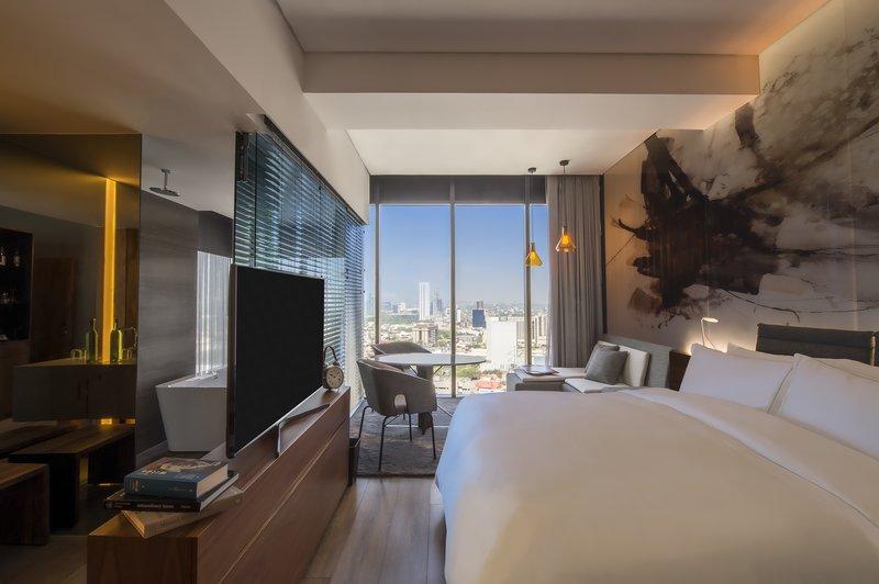 Live Aqua Urban Resort Monterrey-Deluxe Room, 1 King<br/>Image from Leonardo