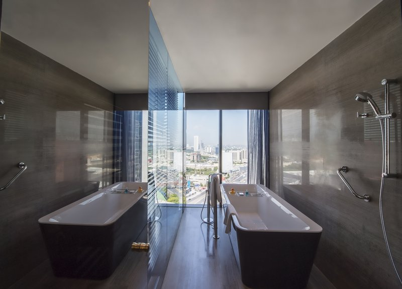 Live Aqua Urban Resort Monterrey-Deluxe Room Restroom<br/>Image from Leonardo