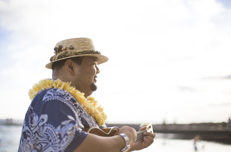 Outrigger Reef Waikiki Beach Resort - Outrigger Reef Waikiki Beach Resort Sunset Ceremony <br/>Image from Leonardo
