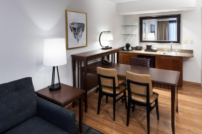 Embassy Suites by Hilton Anchorage-Suite Wet Bar and Work Area<br/>Image from Leonardo