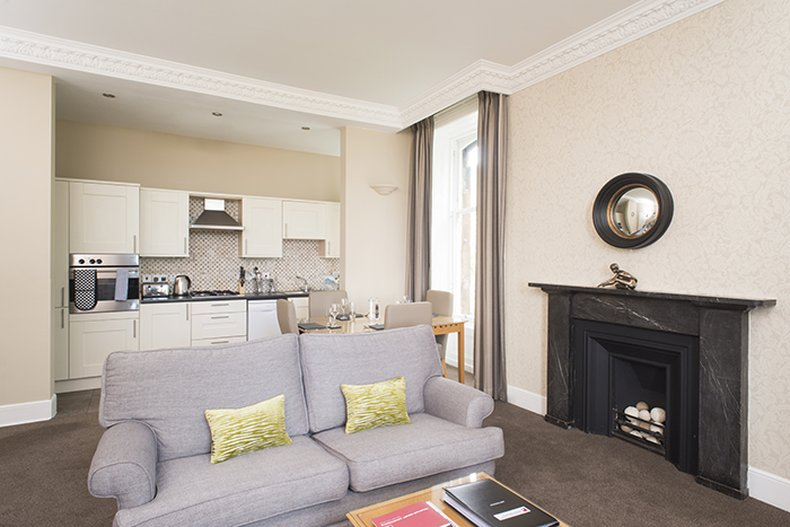 Fountain Court Royal Garden-Superior One Bedroom Apartment Lounge<br/>Image from Leonardo