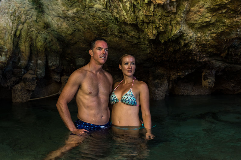 Grotto Bay Resort-Couple Blue Hole Caves<br/>Image from Leonardo