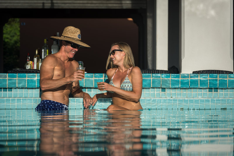 Grotto Bay Resort-Couple Swim Up Bar<br/>Image from Leonardo