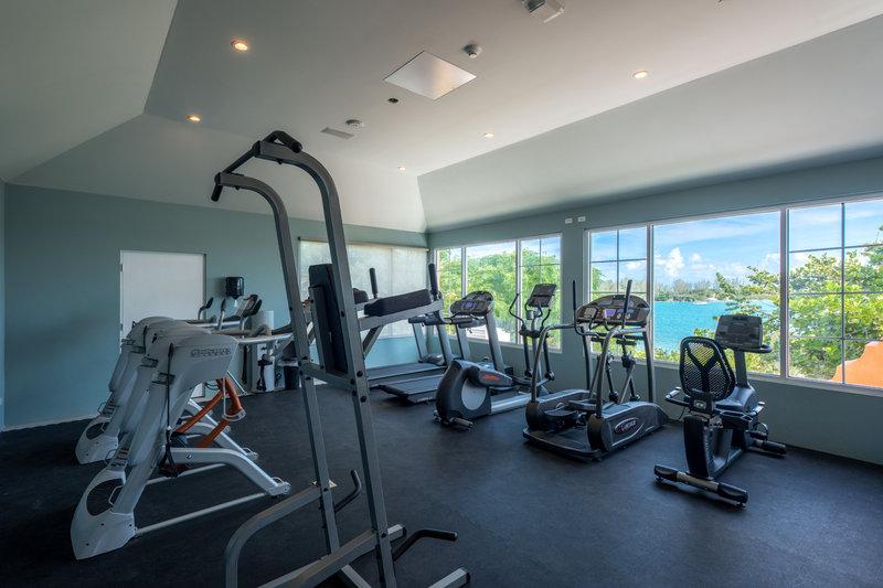 Cambridge Beaches Resort & Spa-Grotto Bay Gym<br/>Image from Leonardo
