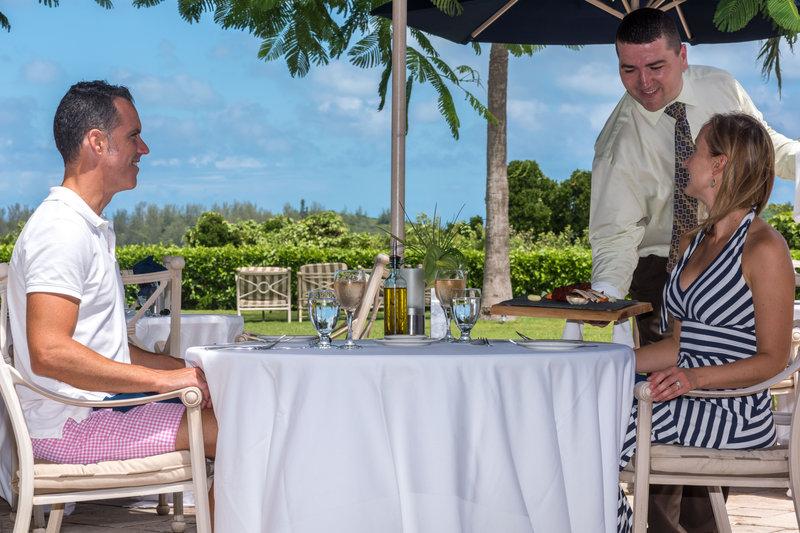 Cambridge Beaches Resort & Spa-Hibiscus Patio Meal<br/>Image from Leonardo