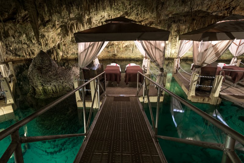 Grotto Bay Resort-Couples Treatment Room, Cave Spa at Grotto Bay Bea<br/>Image from Leonardo