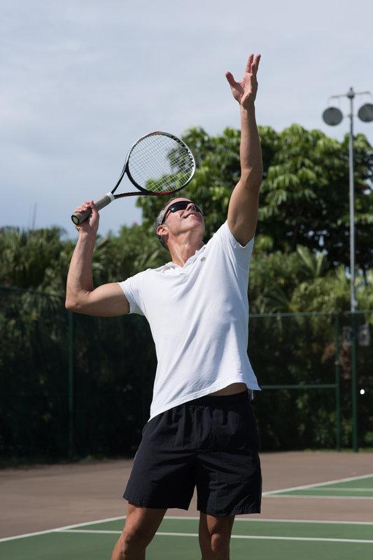 Cambridge Beaches Resort & Spa-Tennis Serve<br/>Image from Leonardo