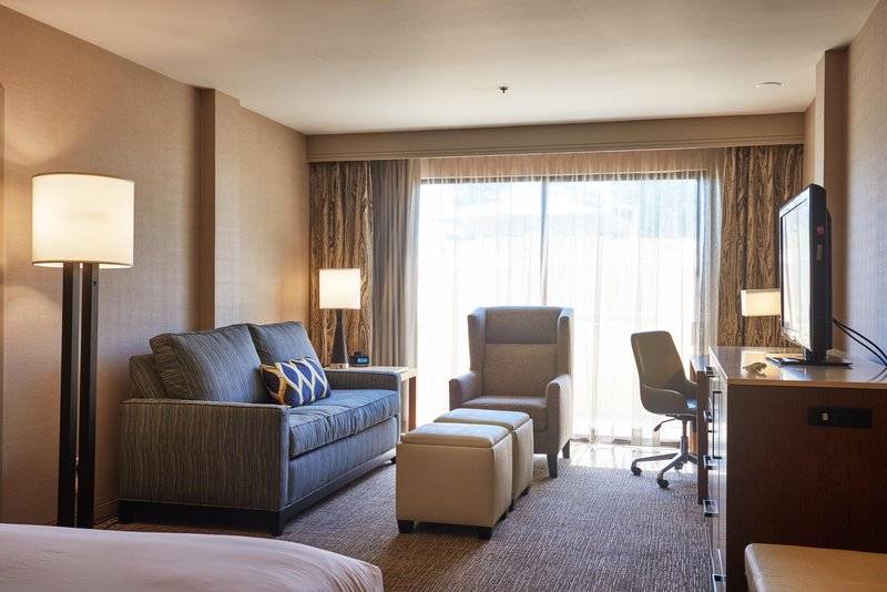 DoubleTree by Hilton Hotel Fresno Convention Center-Murphy Bed Guest Living Area<br/>Image from Leonardo