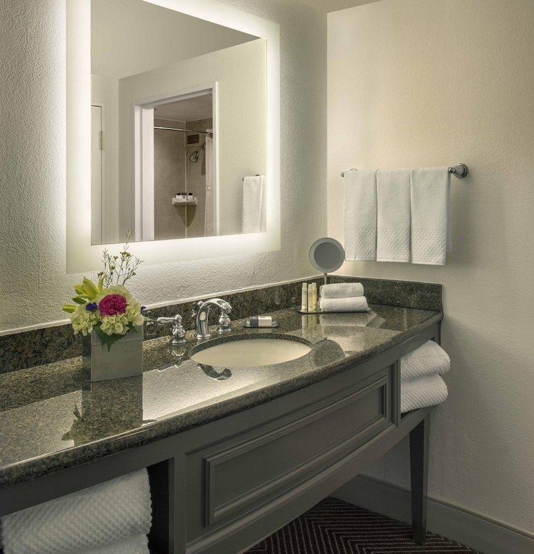 DoubleTree by Hilton Austin-Premium Room Bath<br/>Image from Leonardo