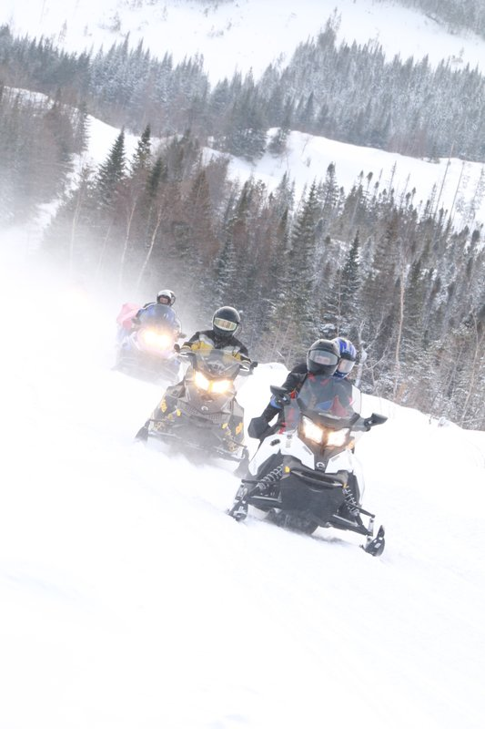 Holiday Inn Express Deer Lake-Snowmobiling - Credit of NL Tourism<br/>Image from Leonardo