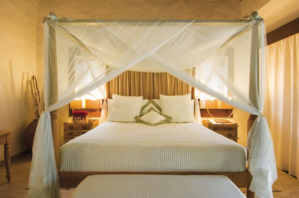 Young  Island  Resort-Executive Suite Bedroom<br/>Image from Leonardo