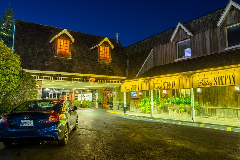Best Western Fireside Inn-Hotel. Night Front East Face. Of<br/>Image from Leonardo