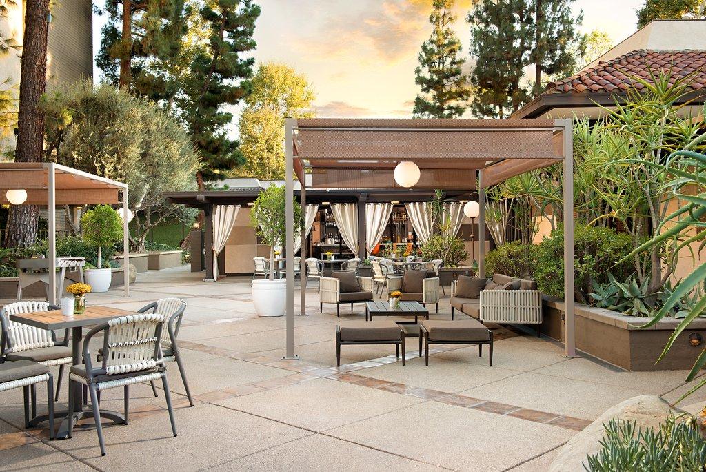 The Garland (Beverly Garland) - Courtyard <br/>Image from Leonardo