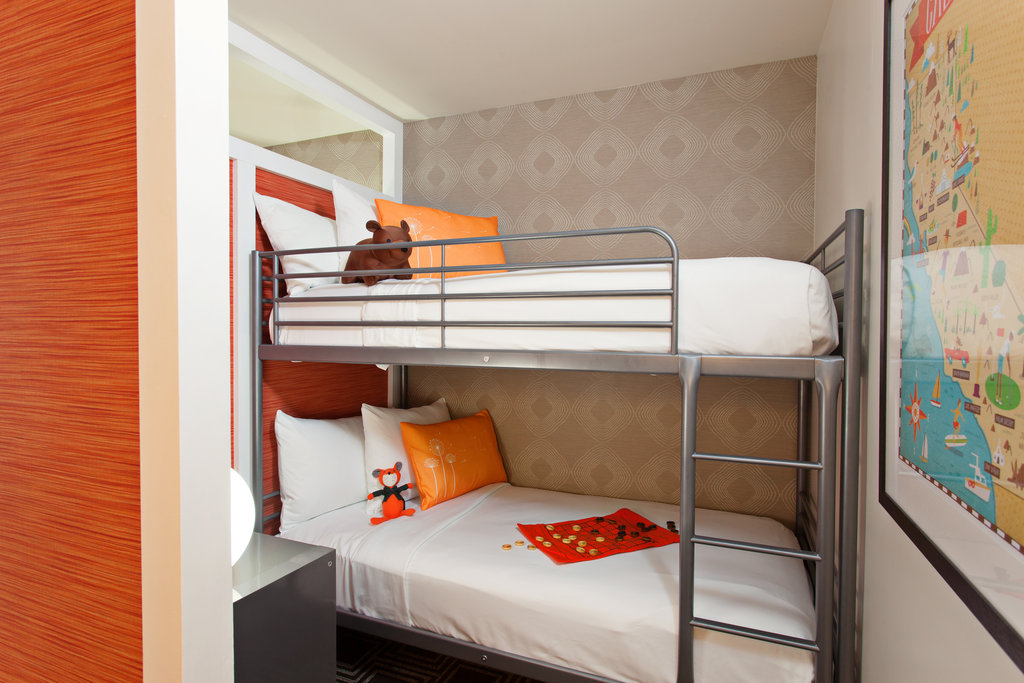 The Garland (Beverly Garland) - The Garland Kids Room Bunk Beds <br/>Image from Leonardo