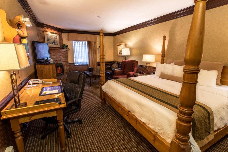 Best Western Fireside Inn-King Room Four Post<br/>Image from Leonardo