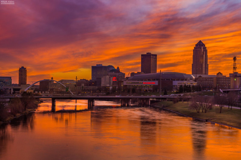 Holiday Inn Des Moines Downtown - Mercy Area-Downtown River<br/>Image from Leonardo