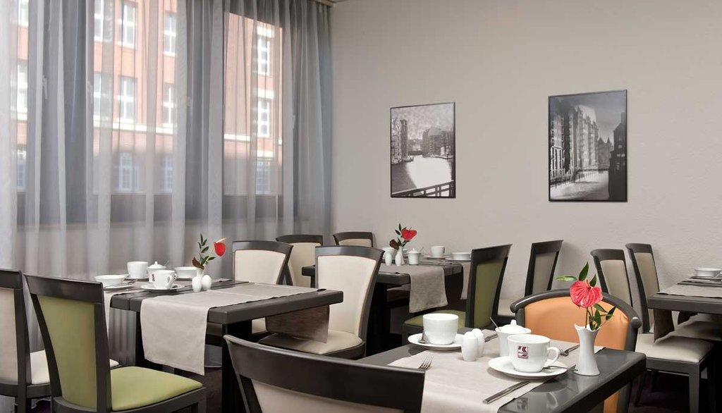 CITY HOTEL HAMBURG MITTE-Restaurant<br/>Image from Leonardo