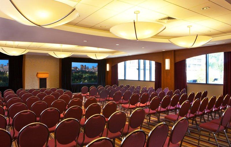 Crowne Plaza Boston - Newton-Ballroom with Screens<br/>Image from Leonardo