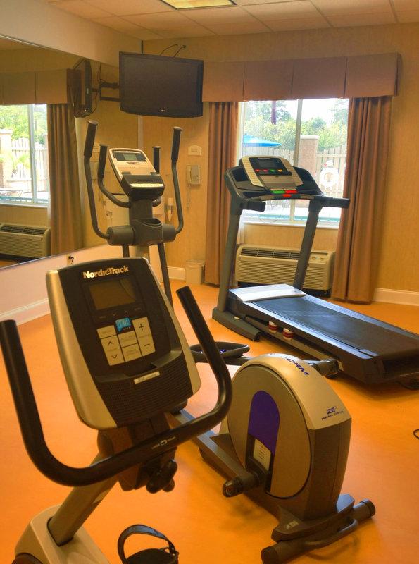 Holiday Inn Express Bluffton-Gym<br/>Image from Leonardo