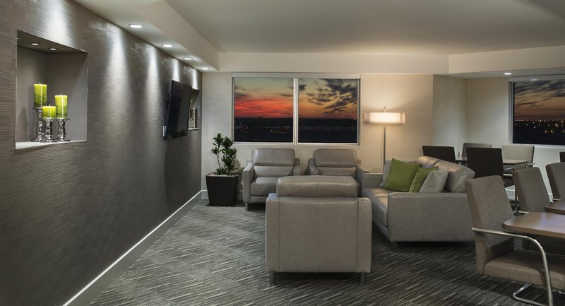Hilton Winnipeg Airport Suites-Executive Lounge Seating<br/>Image from Leonardo