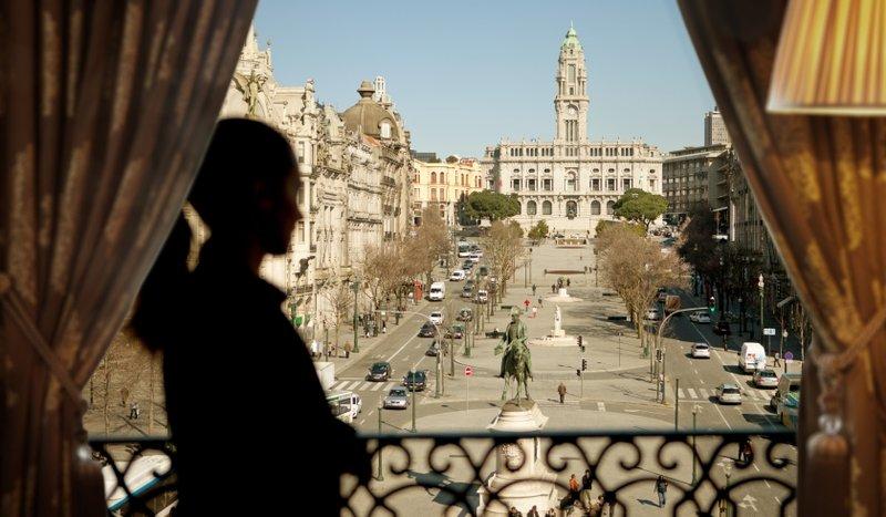 Intercontinental Porto - Palacio das Cardosas-View from Room<br/>Image from Leonardo