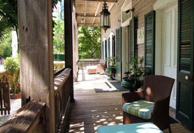 Cypress House Hotel-Cypress House Front Porch<br/>Image from Leonardo