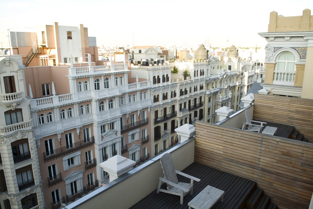 Iberostar Las Letras Gran Via-Superior Room Terrace<br/>Image from Leonardo
