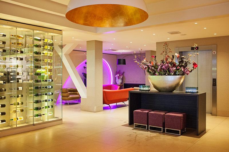 The Albus Hotel Amsterdam City Centre - Lobby <br/>Image from Leonardo