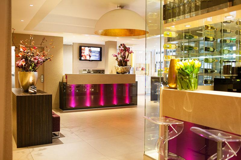The Albus Hotel Amsterdam City Centre - Reception <br/>Image from Leonardo