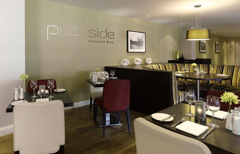 DoubleTree by Hilton Milton Keynes-pitchside restaurant and bar<br/>Image from Leonardo