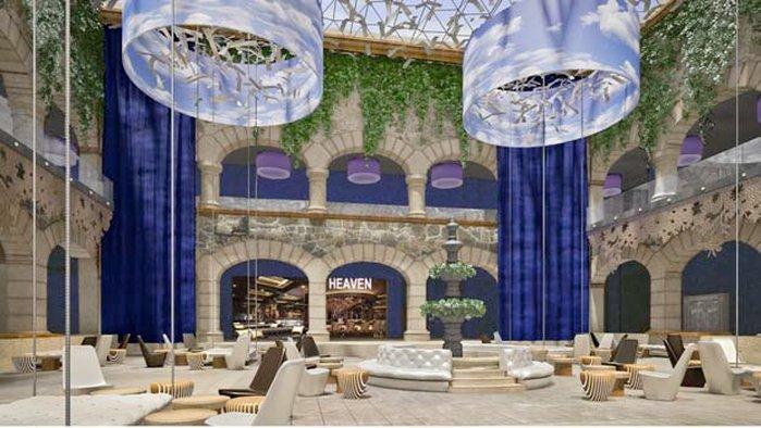 Hard Rock Riviera Maya - Heaven - Heaven Lobby <br/>Image from Leonardo