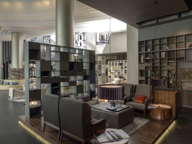 Live Aqua Urban Resort Mexico-The Library - Front Desk<br/>Image from Leonardo