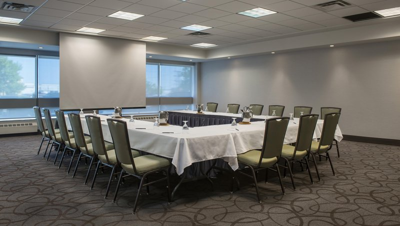 Hilton Winnipeg Airport Suites-Meeting Room - Square Setup<br/>Image from Leonardo