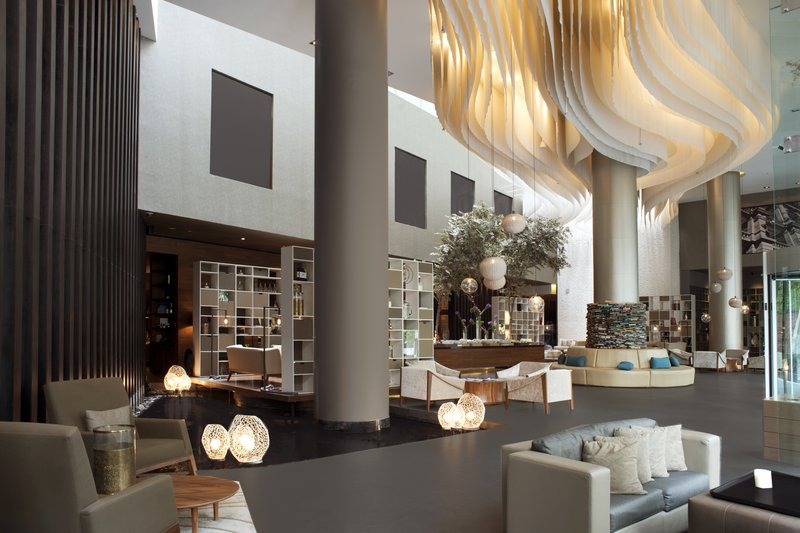 Live Aqua Urban Resort Mexico-Inviting Lobby<br/>Image from Leonardo